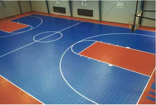 篮球场地拼装地板ZR