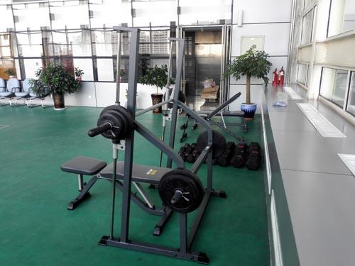 银行健身房